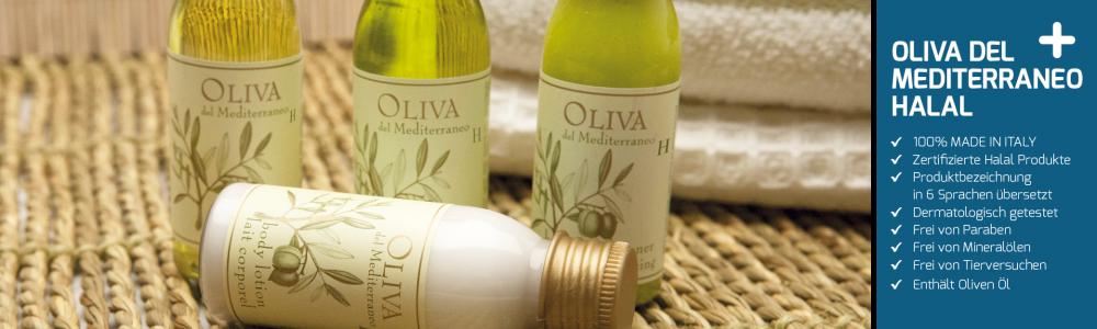 Hotelkosmetik Pflege-Serie OLIVA H